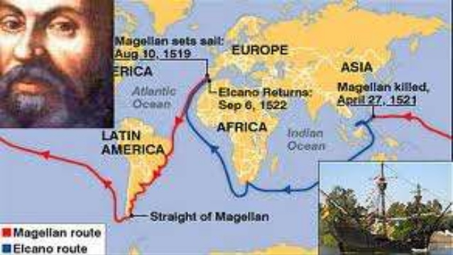 a look at the exploration of ferdinand magellan around the globe