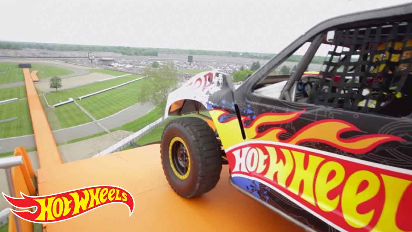 Team Hot Wheels Dünya Rekoru Denemesi